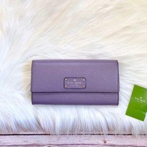 Kate Spade Wellesley Jean Lush Lilac Wallet